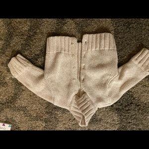 Girls Talbots Kids Knit Tan Sweater size 12 months